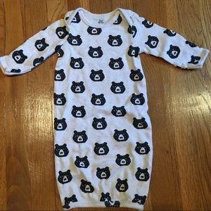 Yoga Sprout Pajamas - 3 night gowns/sleep sacks